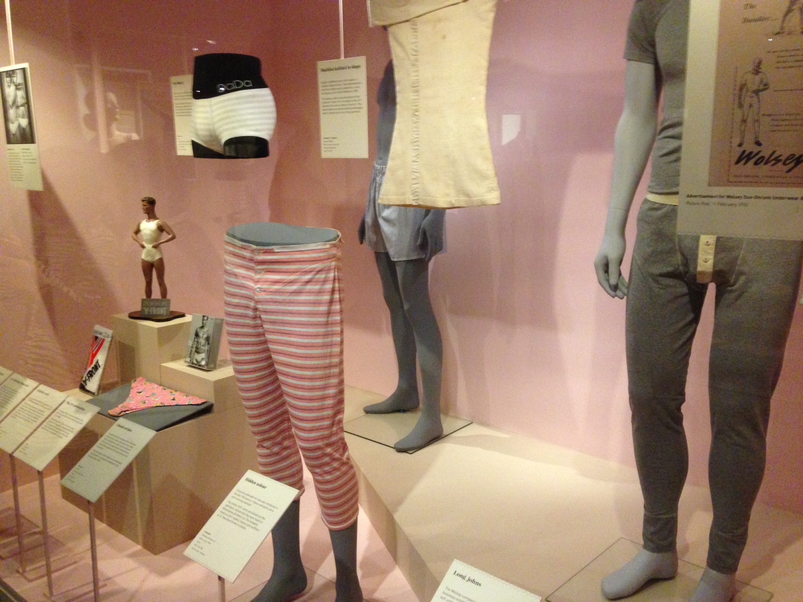 Gray Matter: Pants are on parade at V&A's latest exhibition