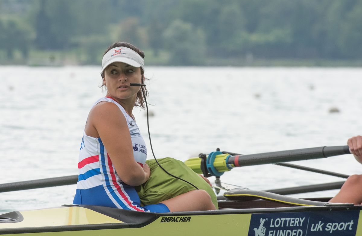 Former Oxford Blue Zoe de Toledo believes the women's eight have a shot at gold in Rio after performing well under pressure in the build up to Olympic selection Picture: Peter Spurrier/Intersport Images