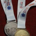 The Oxford Times: Mike Oliver's gold and silver medals from the GB Transplant Games