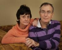 Appalled: Cancer patient Martyn Sumner and his wife Janet