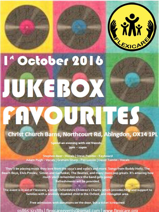 JukeBox Favourites at the Barns