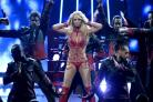 Britney Spears admits to getting 'contact high' on stage