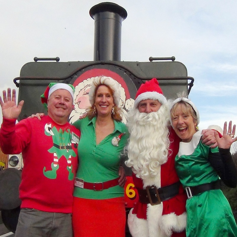 Santa Steam Specials ex Chinnor or Risborough £2 OFF at Chinnor & Princes Risborough Railway