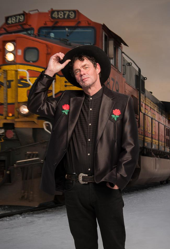 Slow train coming: Rich Hall comes to the Oxford Playhouse on Saturday