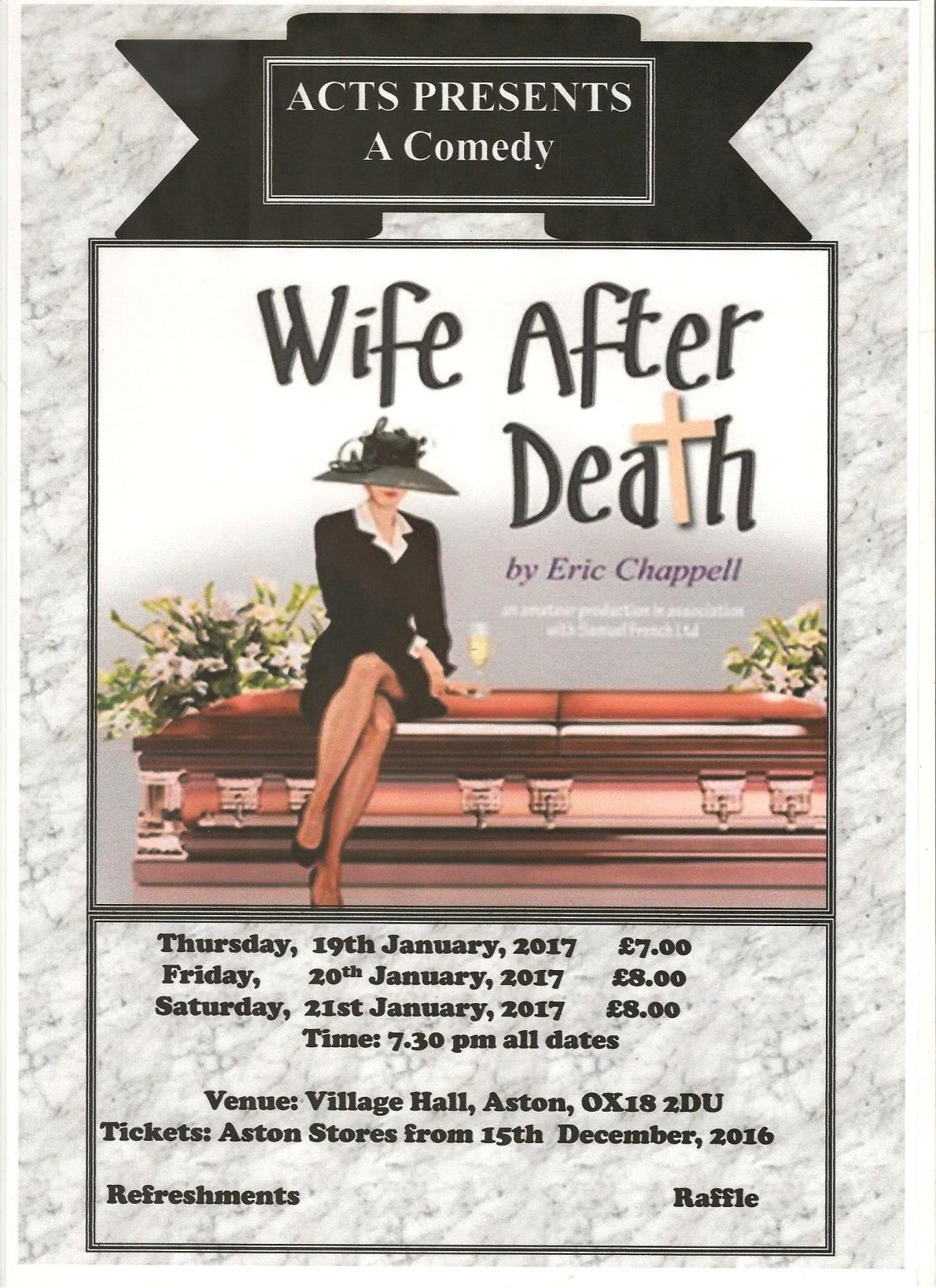 WIFE AFTER DEATH by Eric Chappell