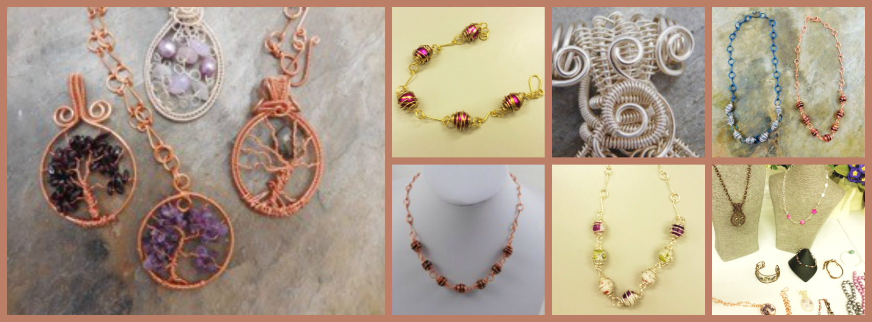 Wire Weaving for Jewellery