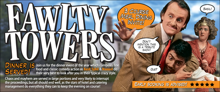 Fawlty Towers Themed Comedy Dining Evening @ The Kings Arms Hotel - Bicester