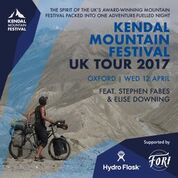Kendal Mountain Festival UK Tour 2017