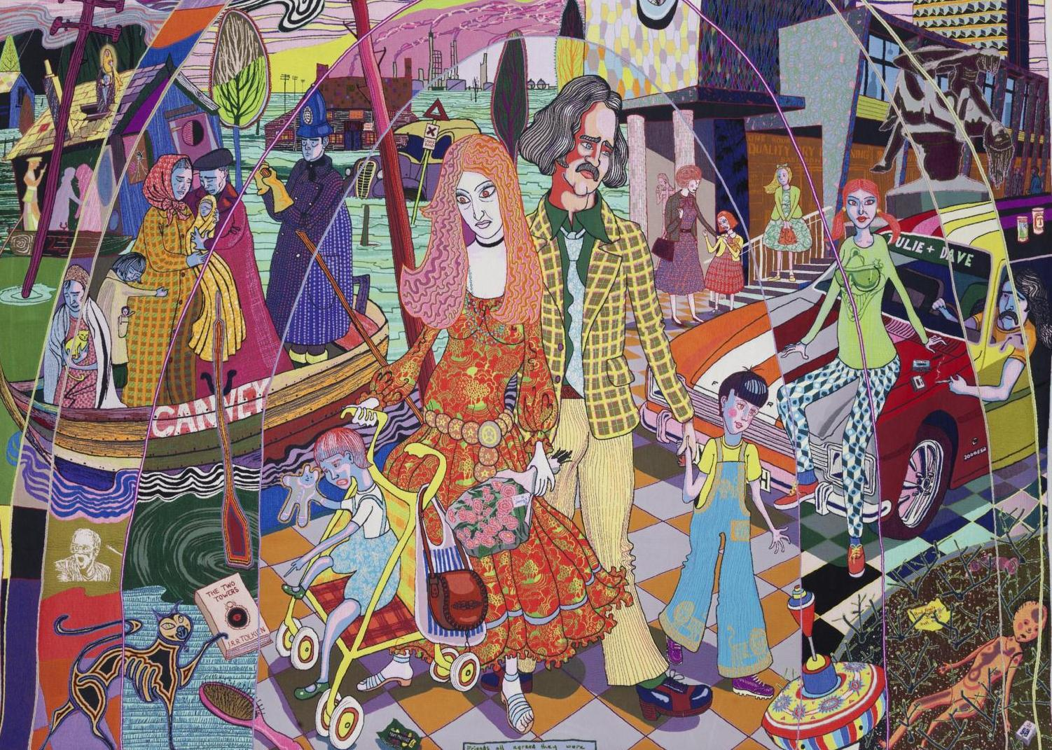 Detailed: Grayson Perry's The Perfect Match is at Banbury Museum