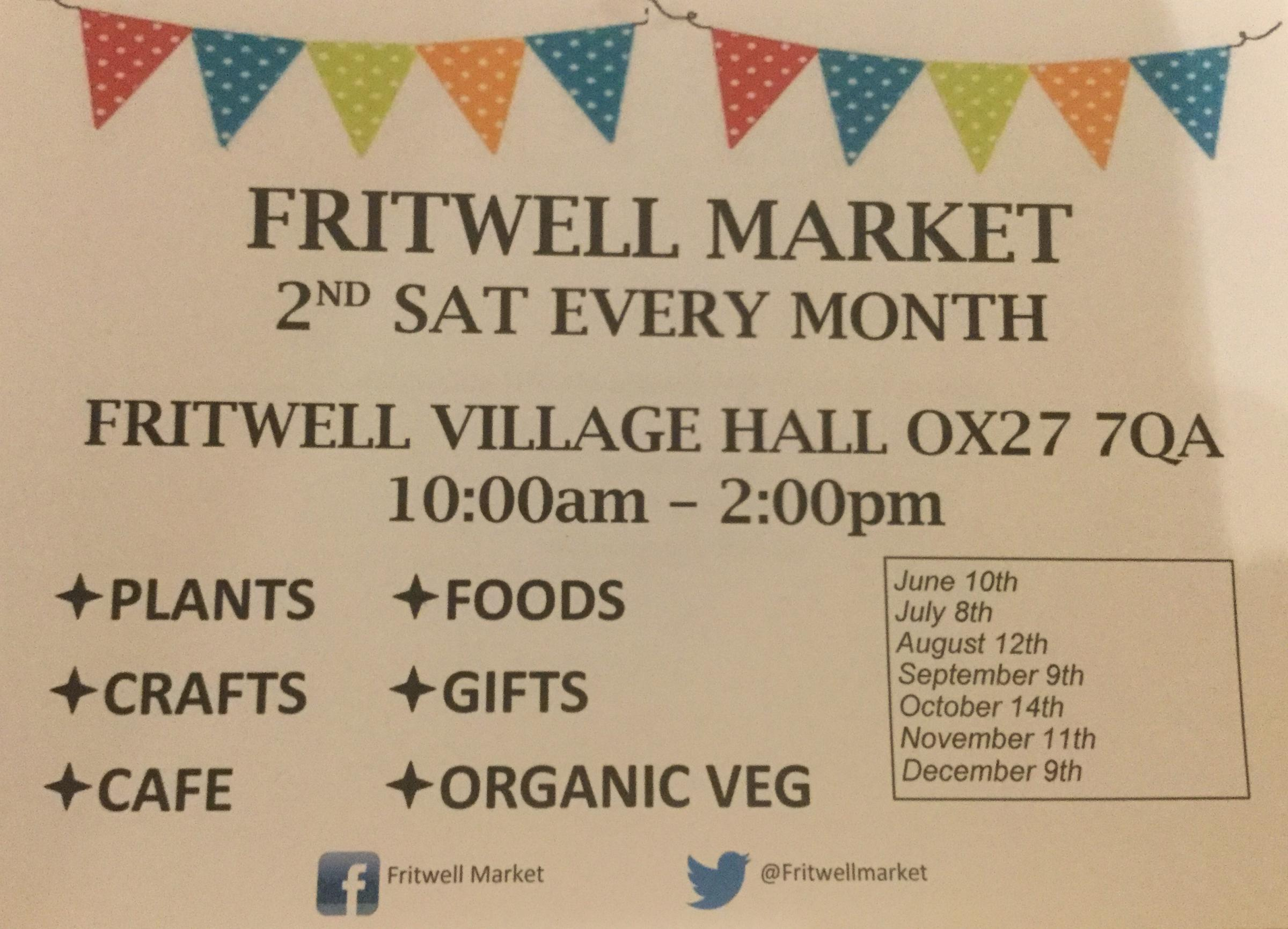 Fritwell Market