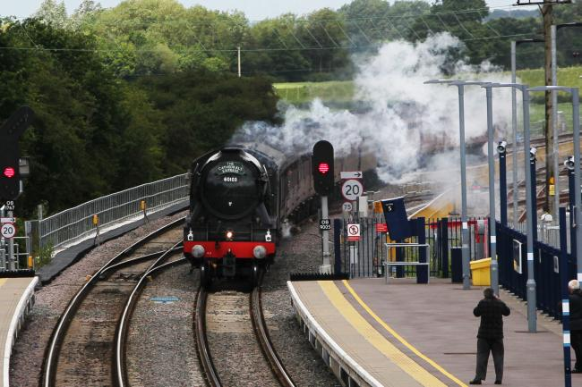Flying Scotsman is back in Oxfordshire this weekend