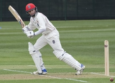 James Coles shared a double-century stand with Freddie Smith for Oxfordshire Under 14s