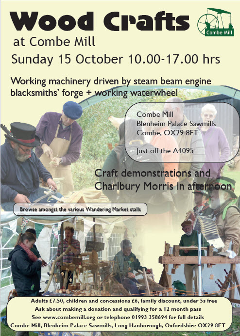 COMBE MILL in STEAM - Sun 17th October 2017