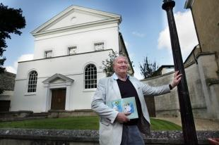 The Oxford Times: John Melvin outside Holywell Music Room