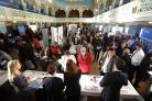 The Oxford Times Job Fair in February 2016. Picture Jon Lewis