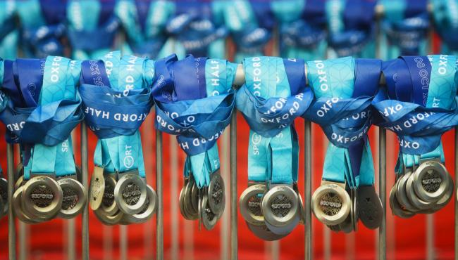 No medals for half marathon finishers - Storm Ali blamed | The