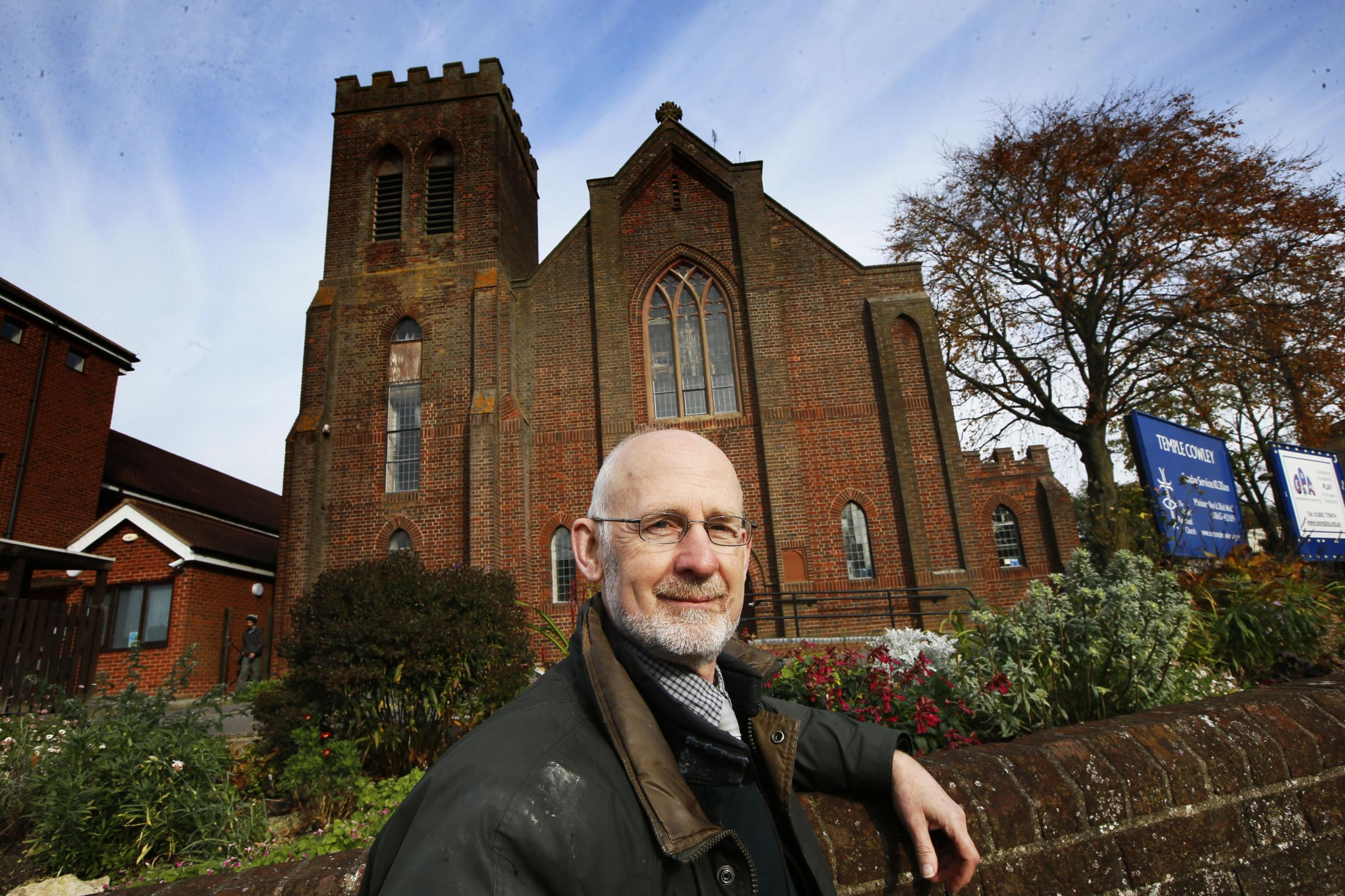 Temple Cowley United Reformed Church is closing after 140 years, retiring Revd Dick Wolff is pictured. Final service is on Sunday. .1.11.2017.Picture by Ed Nix..