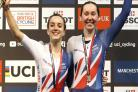 Katie Archibald and Elinor Barker get the golden feeling again