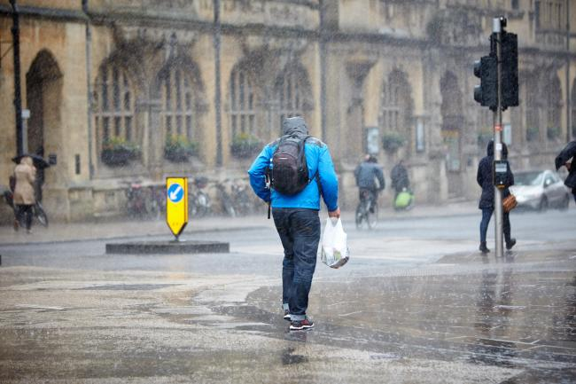 Get ready for another wet commute - rain set to continue all day