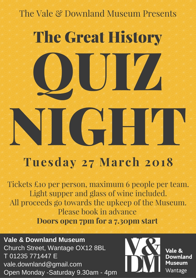 The Great History Quiz Night