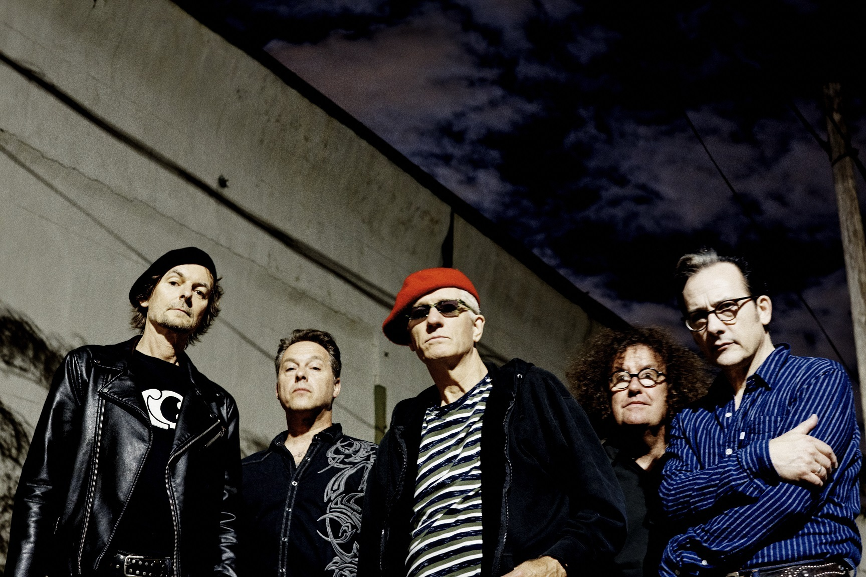 Evil spirits: The Damned. Picture by Steve Gullick