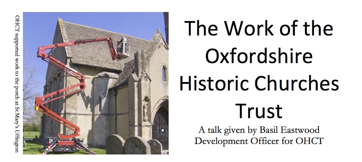 The Work of the Oxfordshire Historic Churches Trust