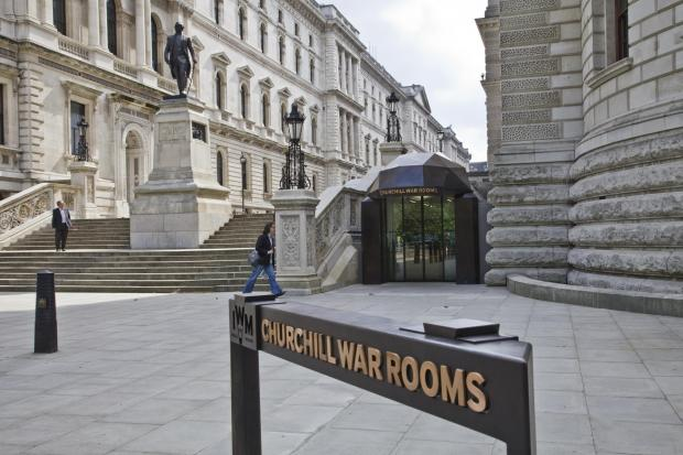 The Oxford Times: Exterior view of Churchill War Rooms. Photographed 14th June 2012