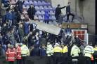 Crowd trouble marred Wigan's win over Manchester City (Martin Rickett/PA)