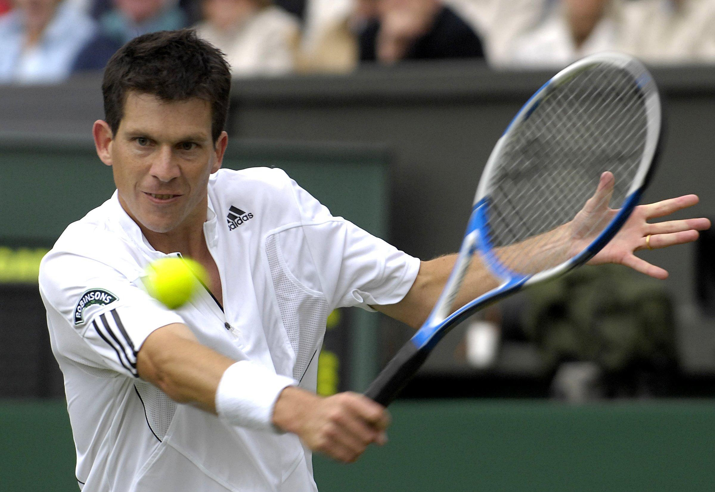 Tim Henman, pictured during his last Wimbledon in 2007, believes Oxfordshire's Alexis Canter has what it takes to climb the world rankings Picture: Rebecca Naden/PA Wire