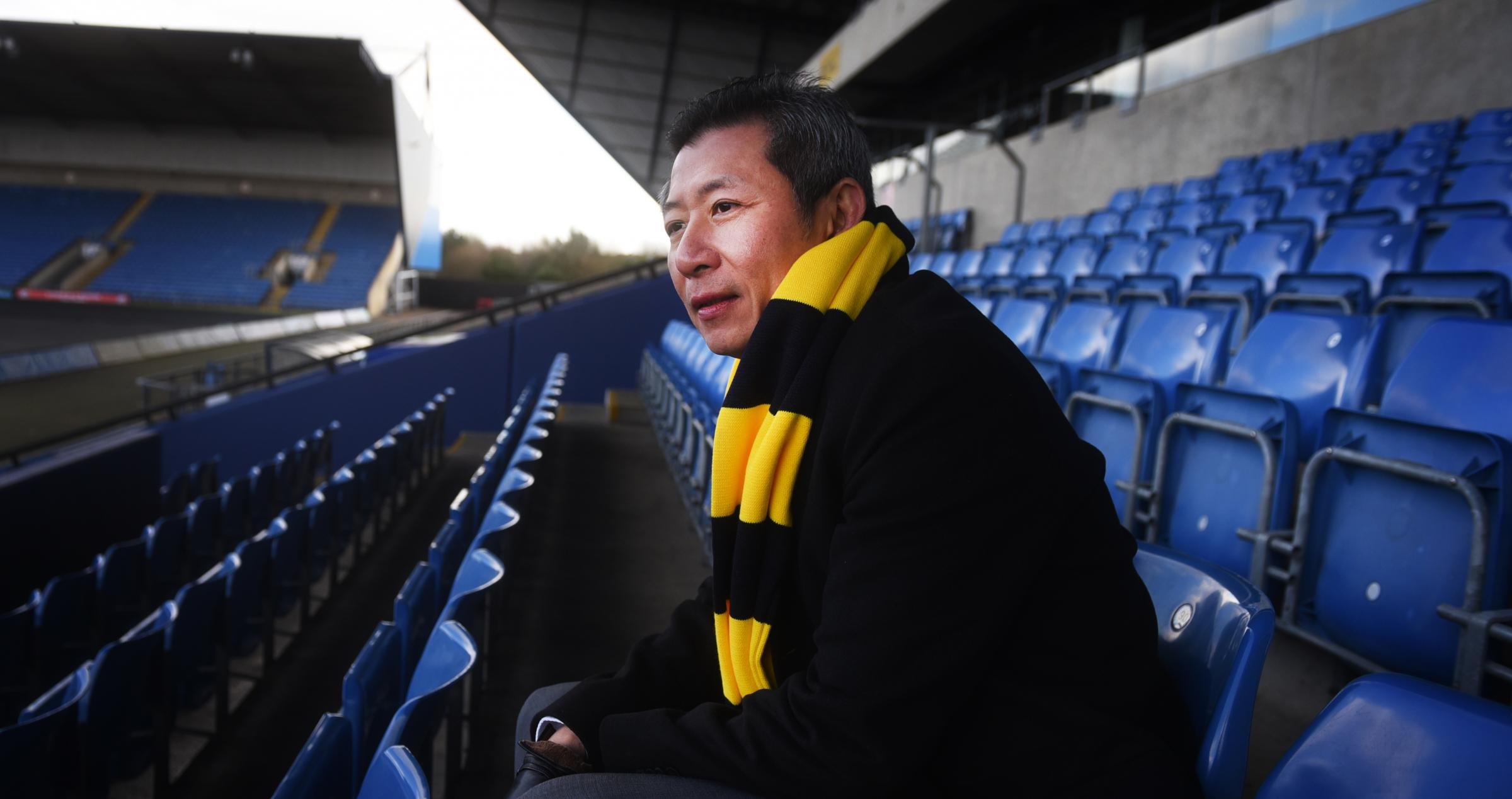 Sumrith Thanakarnjanasuth completed his takeover at Oxford United last month  Picture: Richard Cave