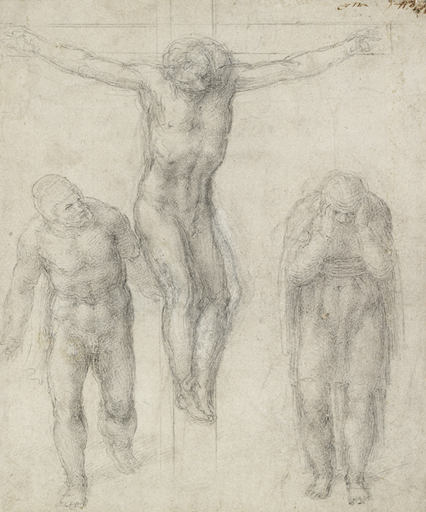 Michelangelo -Crucifixion (c) Ashmolean Museum, University of Oxford