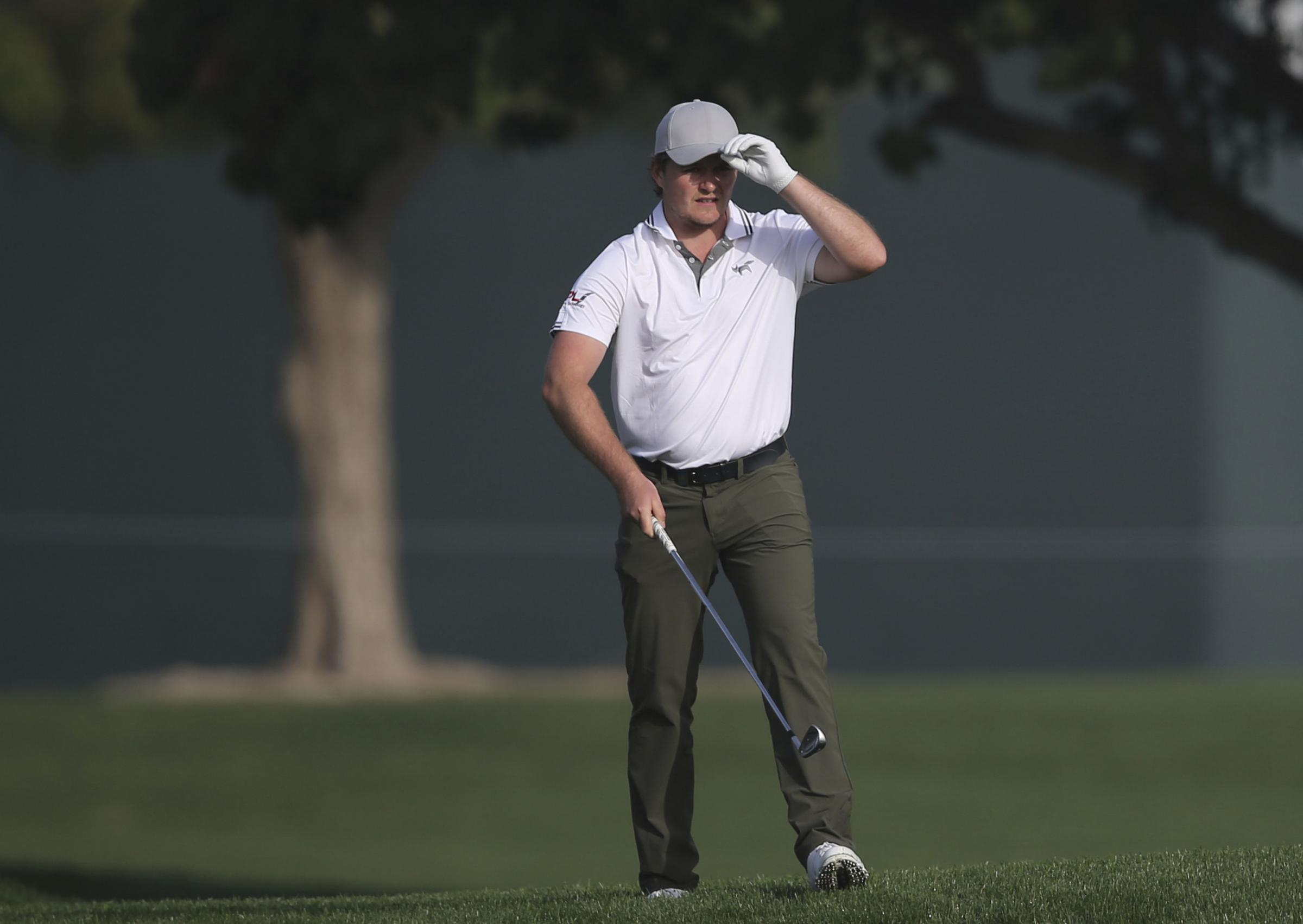 FIVE-UNDER: Eddie Pepperell finished in a tie for 14th in Sicily. Picture: AP Photo/Kamran Jebreili