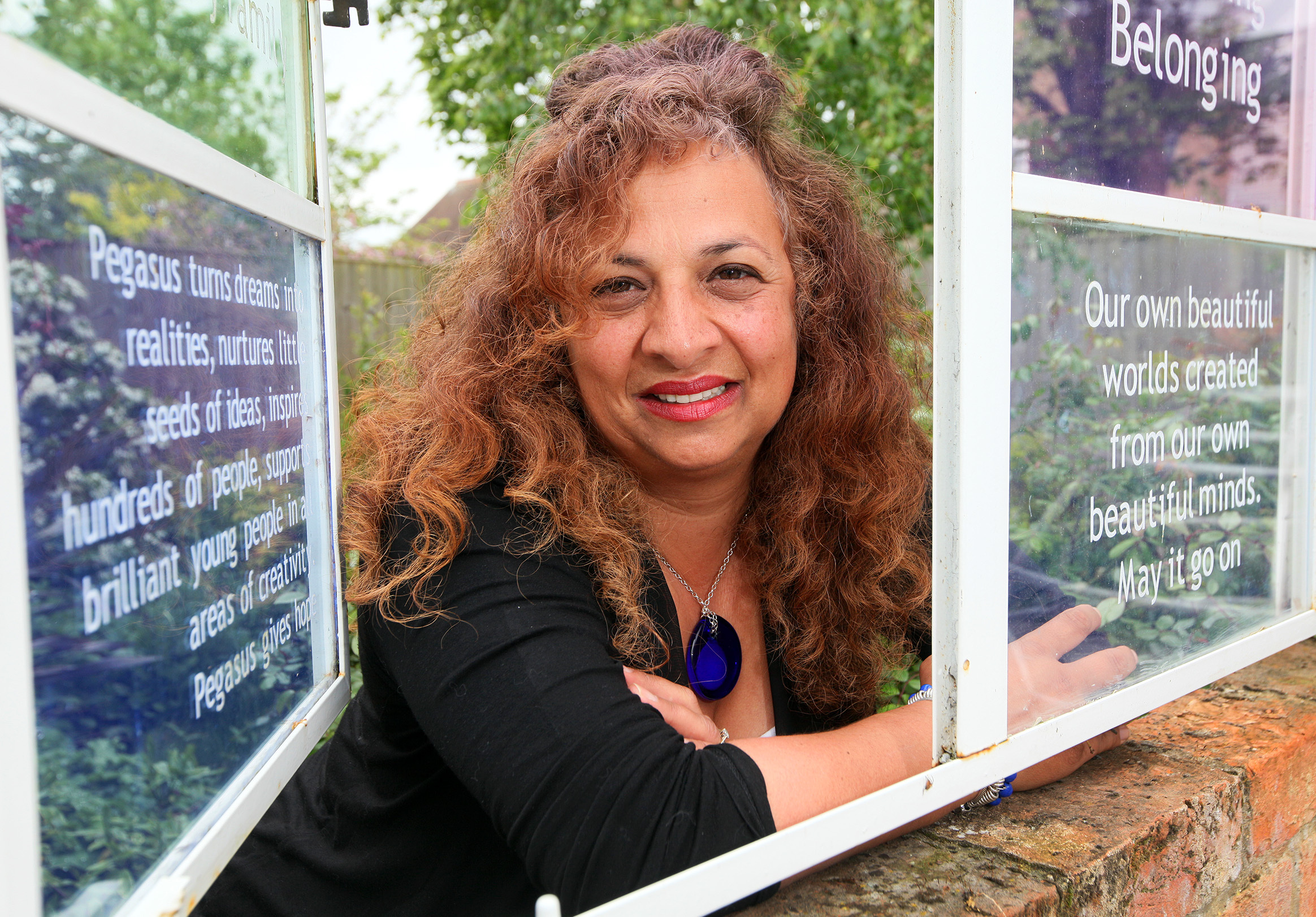 FILENAME: PEGASUS_DIRECTOR.BOOKED BY:  ANNABAL BAGDI.PICTURE BY: LUCY FORD.LENGTH: LEAD.LOCATION: PEGASUS THEATRE, MAGDALEN ROAD, OXFORD, OX4 1RE.DATE: 15TH MAY 2015..Yasmin Sidhwa is stepping down as director of the Pegasus Theatre after 17 years..Pictur