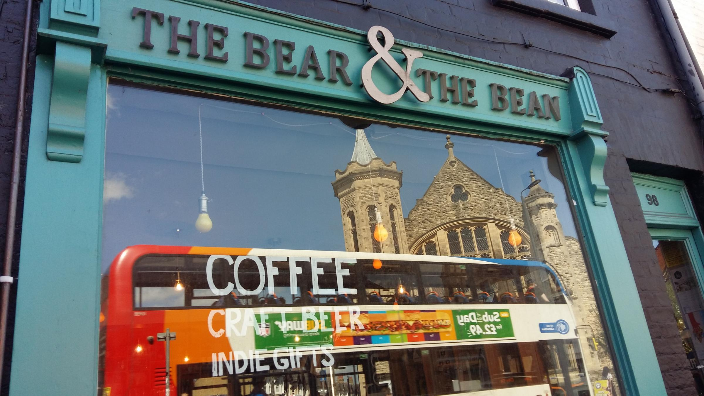 The Bear & The Bean cafe is to close. Pic Andy Ffrench