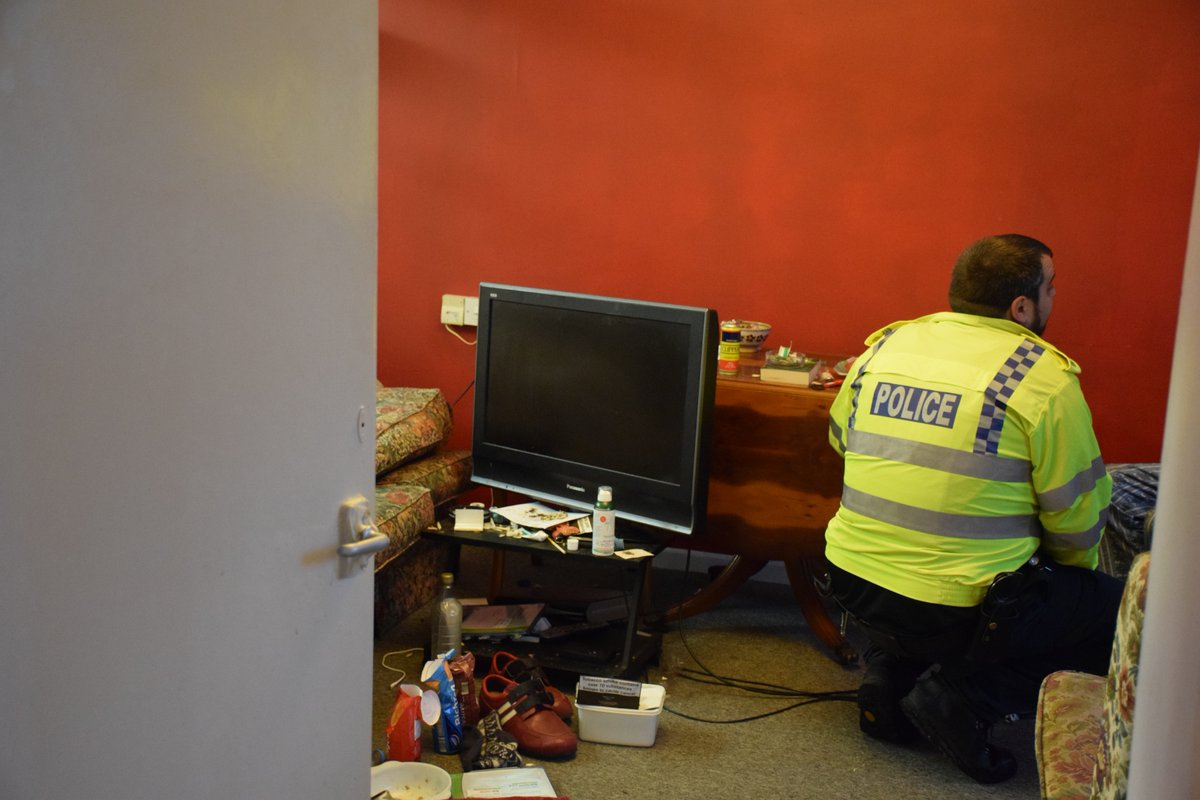 Police explain why they are raiding houses in drugs crackdown