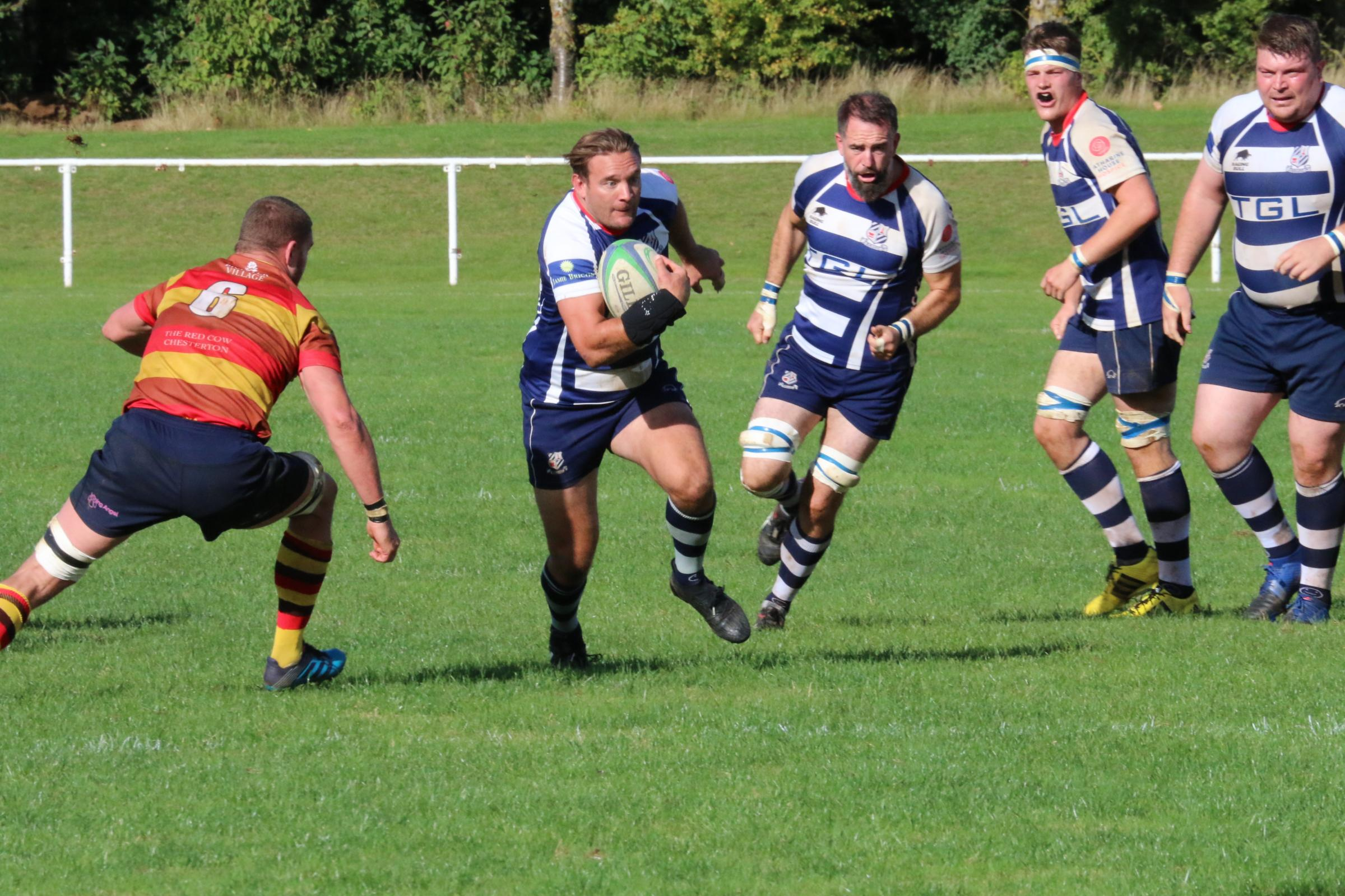 HELP: Banbury's Matt Goode hopes Oxford Harlequins can beat Old Patesians tomorrow Picture: Simon Grieve