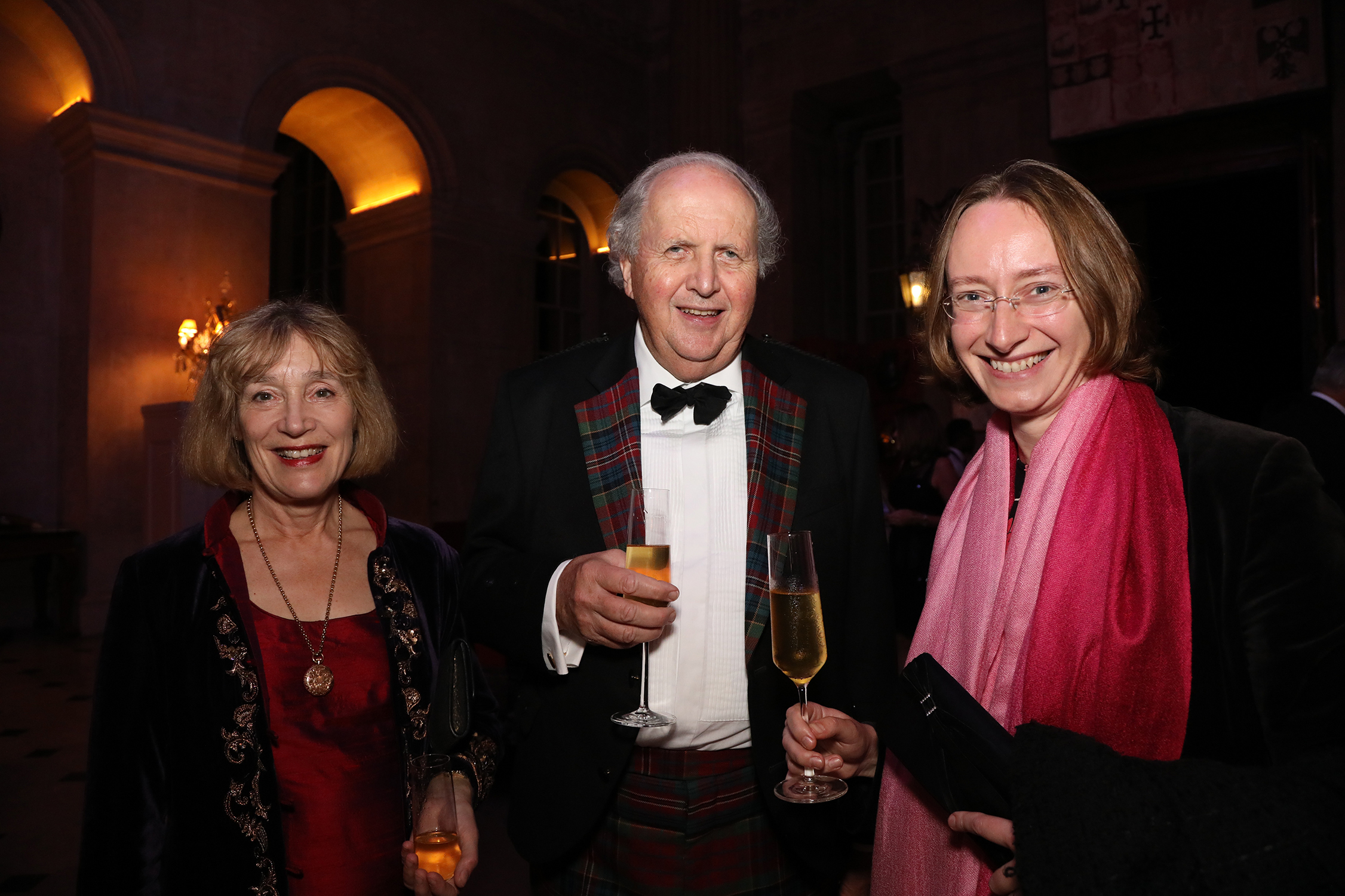 Elizabeth and Alexander McCall Smith and Megan Daffern.