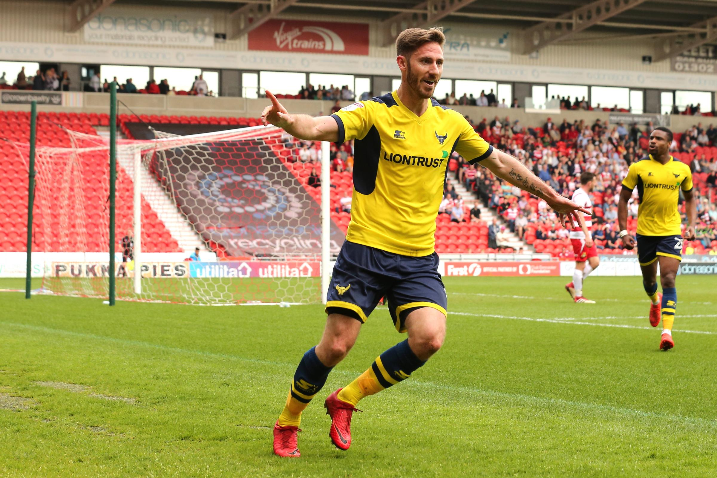 Oxford United's match-winner at Doncaster Rovers on Saturday  Picture: James Williamson