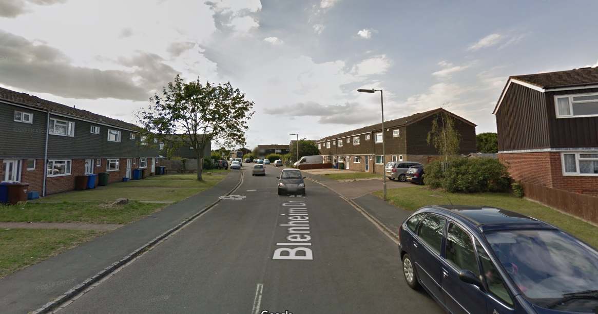 Blenheim Drive, Bicester. Picture - Google