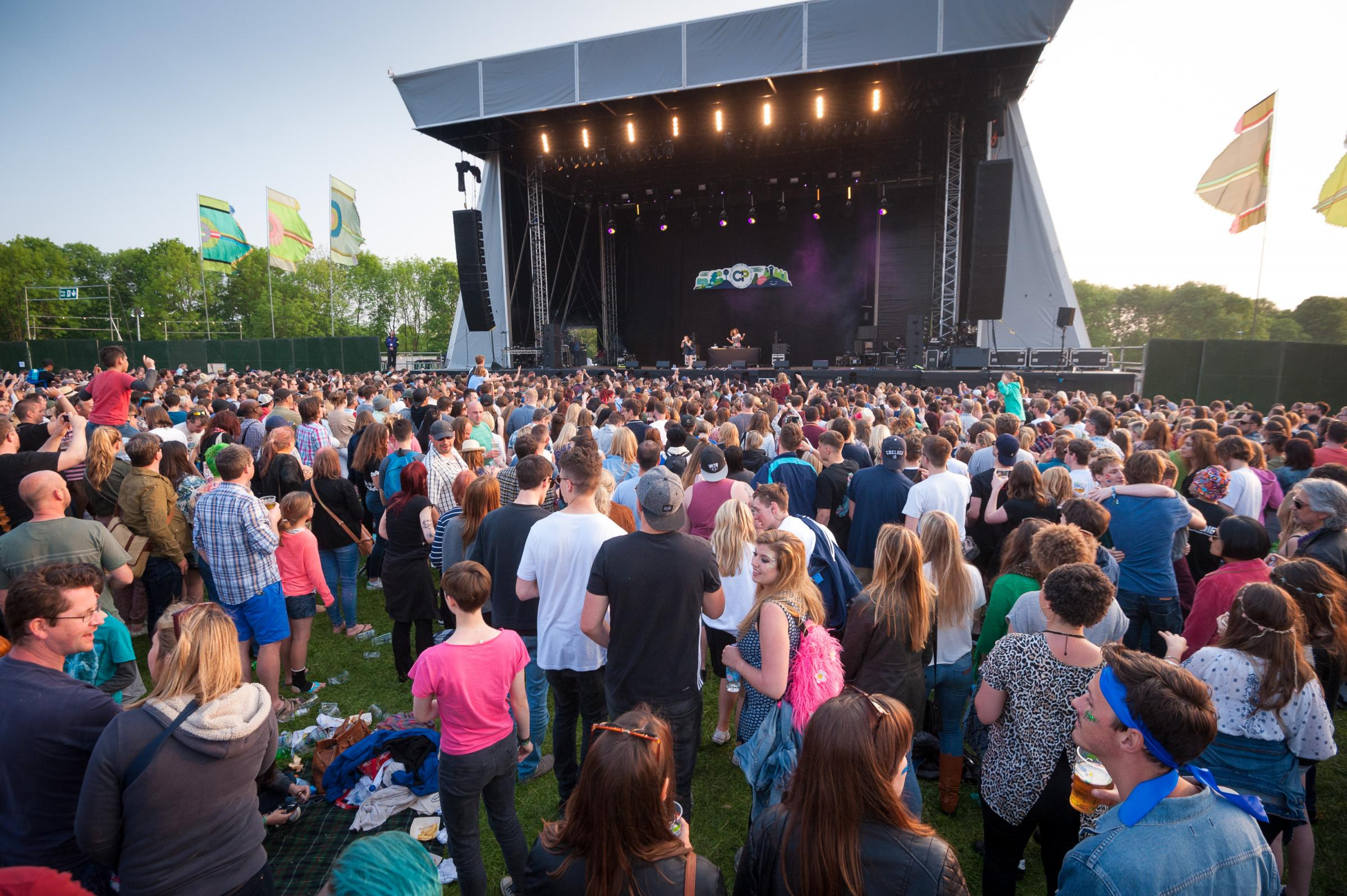 Common People festival at South Park, Oxford, in 2016. Picture: Andrew Walmsley