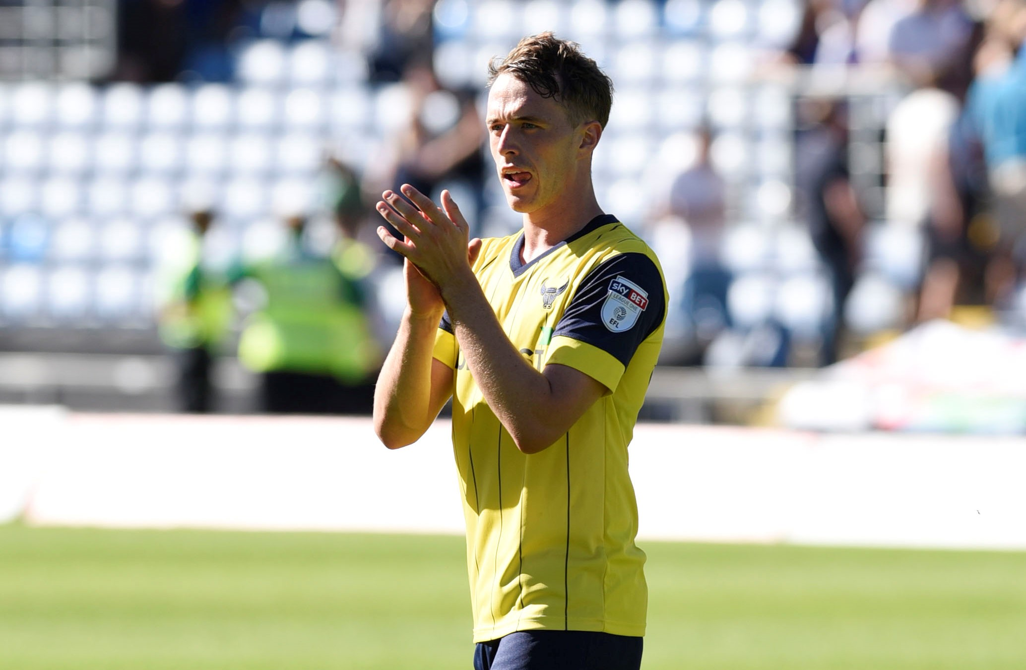 Sam Long has extended his stay at Oxford United for another 12 months  Picture: David Fleming