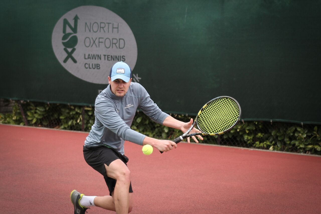 Benedict Calnan was part of North Oxford's victorious team