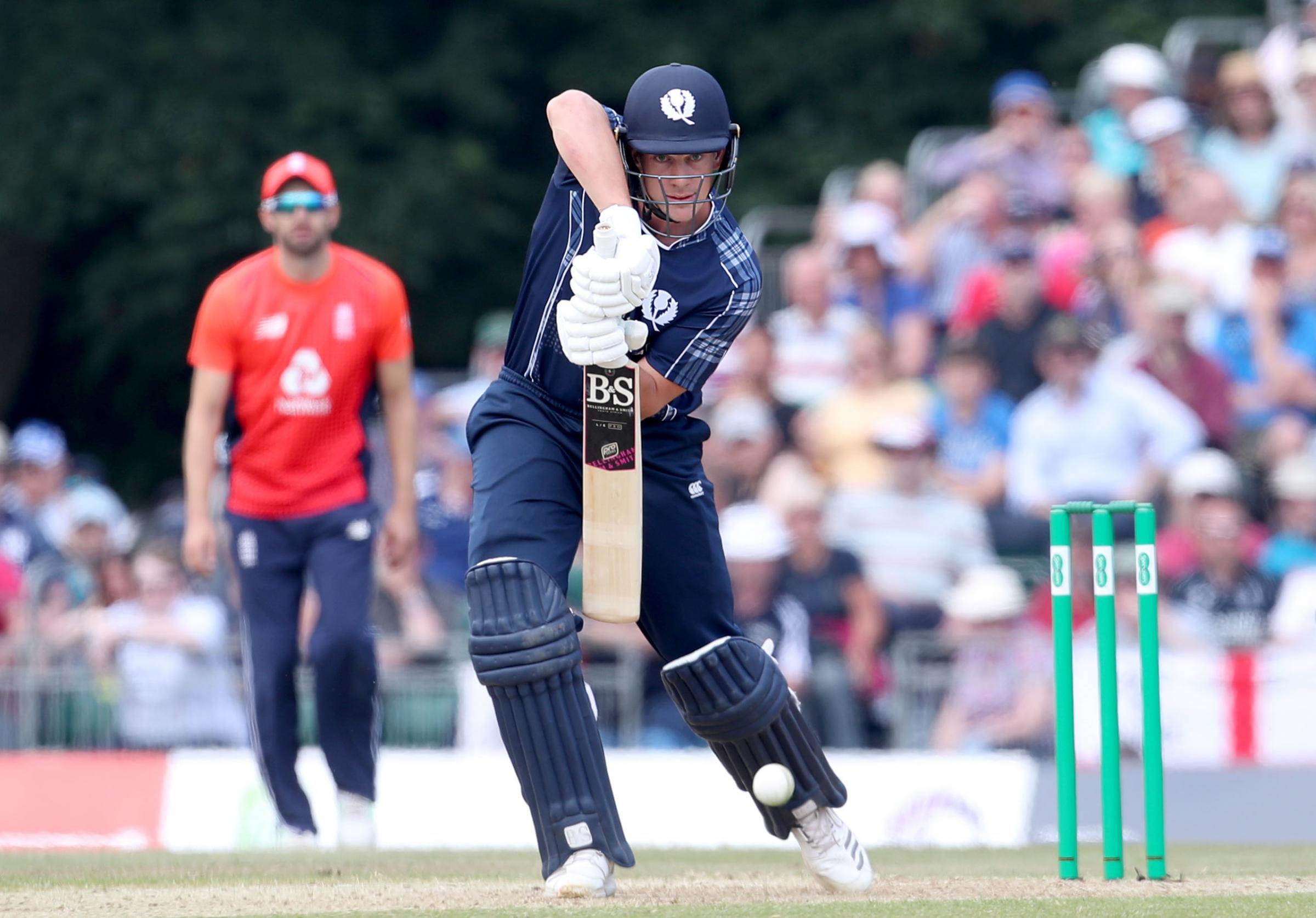 IN THE RUNS: George Munsey in action for Scotland against England Picture: Jane Barlow/PA Wire
