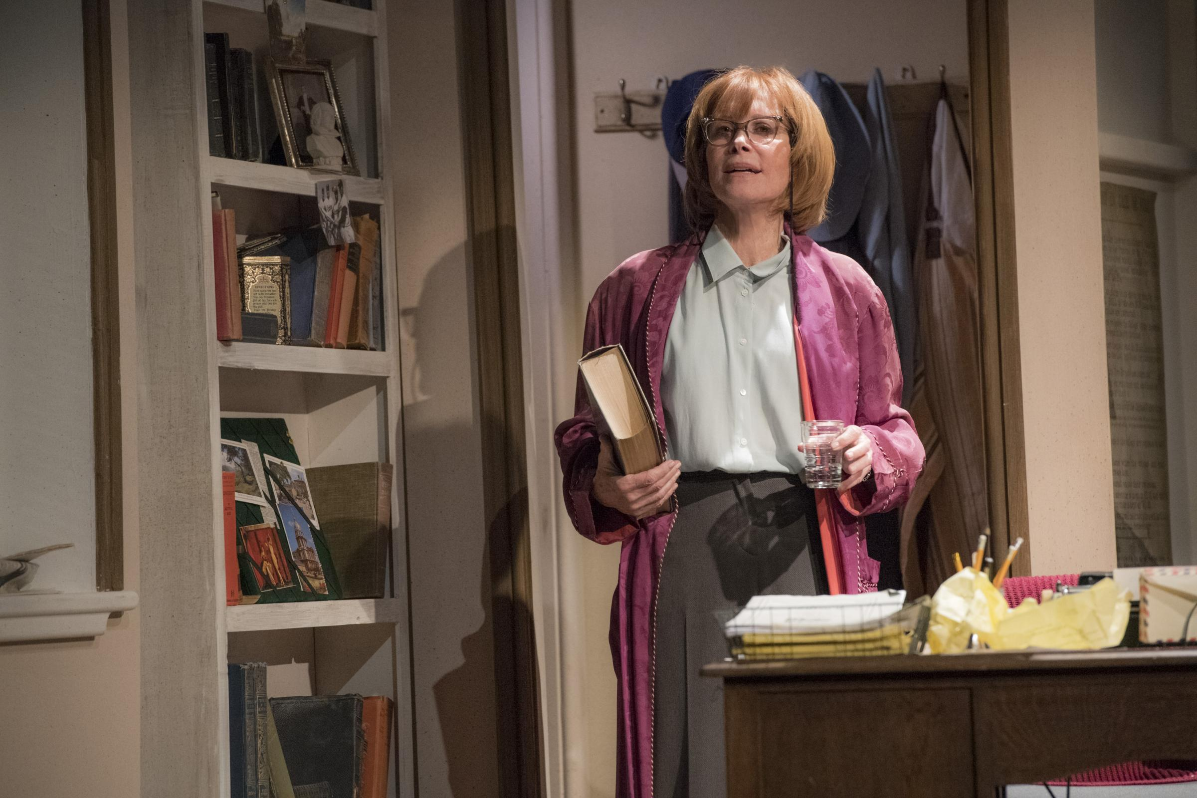 Stefanie Powers as Helene Hanff in 84 Charing Cross Road                                                                Pic by Richard Hubert Smith