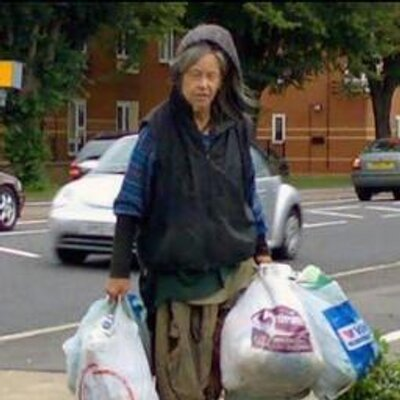 The Botley Bag Lady. Picture: Botley Bag/Twitter