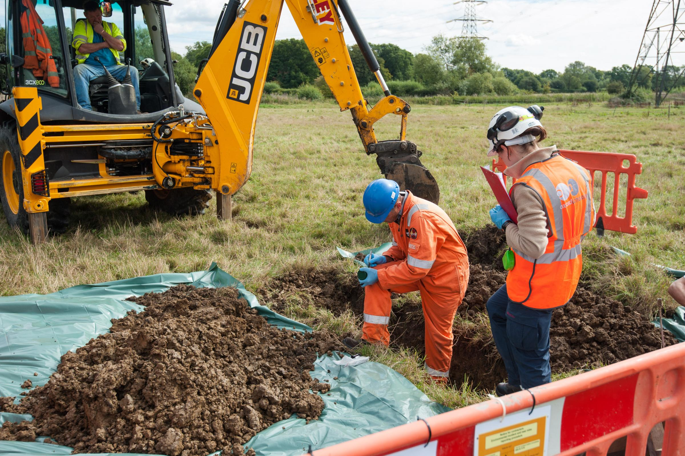 Preliminary work on the £120m flood relief channel starts