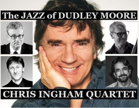 Burford Jazz Presents: Chris Ingham Quartet 'The Jazz of Dudley Moore'