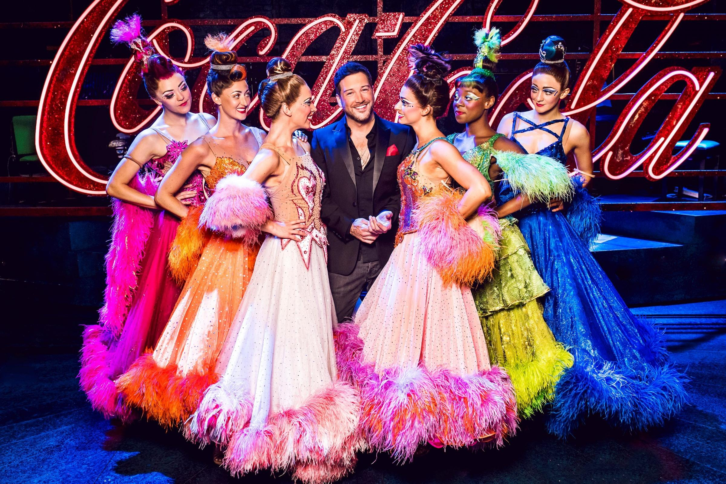 Musical spectacle: Strictly Ballroom The Musical is at The Piccadilly Theatre, London.  Picture: Matt Crockett