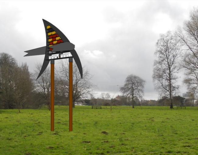 Jonathan Wheeler's winning design for the swift tower at Oxford University Parks