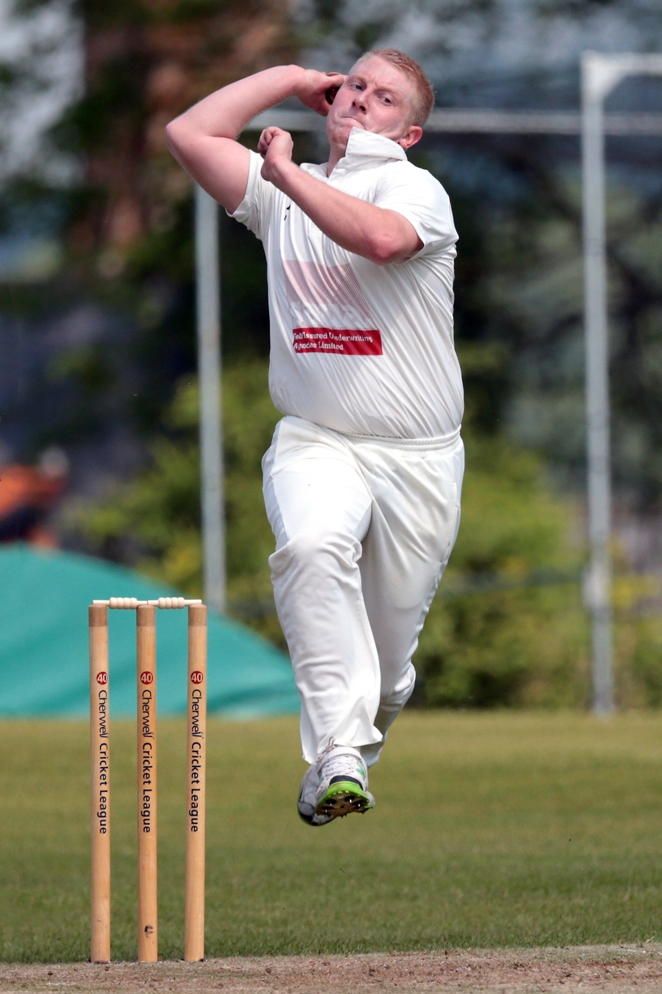 FINE DEBUT: Robbie Shurmer took four wickets for Oxfordshire